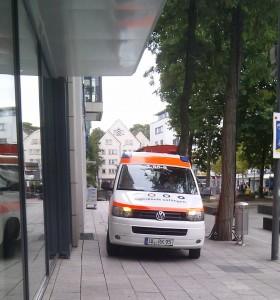 Gesamt KTW Ulm - Fußgängerzone 19.09.2011