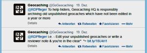 GoGeocaching RDPfleger twitter 19-12-2103-Antworten-gross