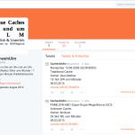 Ausschnitts-Screenshot von @CachesUL auf Twitter vom 08.03.2015.